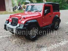 Here Is An Elegantly-Designed Miniature Of The 2020 Mahindra Thar