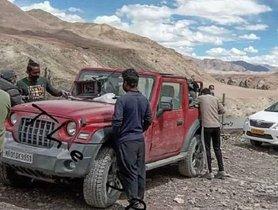 2020 New Mahindra Thar TVC Shoot In Ladakh - Behind The Scenes