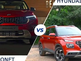 7 Features Of Kia Sonet NOT AVAILABLE On Hyundai Venue
