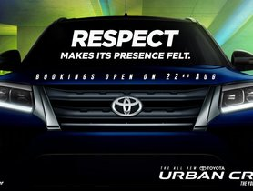 """First Lot of Toyota Urban Cruiser Buyers to Get """"Respect Package"""""""