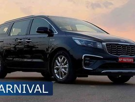 Discounts Worth Up to Rs 2.1 Lakh On Kia Carnival This Month