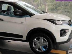 Tata Nexon EV XM Variant Detailed In Walkaround Video, Gets Steel Rims