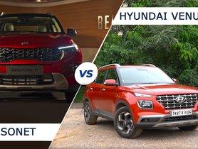 Hyundai Venue vs Kia Sonet – Design Comparison (Video)