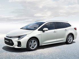 Suzuki Swace Unveiled, Re-badged Version Of Toyota Corolla Wagon
