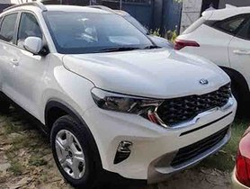 Mid-Spec Kia Sonet HTK+ Seen In a Detailed Walkaround Video