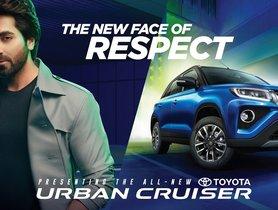 Ayushmann Khurana Ropped In to Promote Toyota Urban Cruiser (Repurposed Maruti Vitara Brezza)