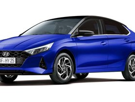Next-gen Hyundai i20 Sedan Rendering