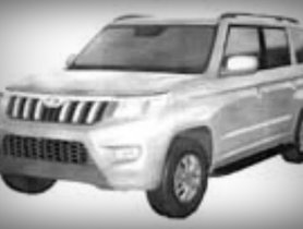Here's the First Look at New Mahindra TUV300 Plus