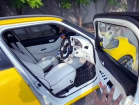 Modified Maruti Swift Gets Ventilated Seats With Massaging Function