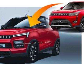 All New Mahindra KUV100 IMAGINED With XUV300-like Looks