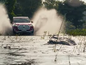 MG Gloster Offroad Capabilities Shown in the Latest TVC