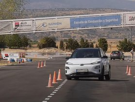 Check Out Hyundai Kona Electric Undergoing Moose Test
