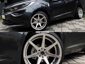 Tata Altroz Shod With 17-inch Alloys Looks Just Too Good!