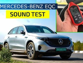 How Quite is it Inside the Mercedes-Benz EQC is? Check Out our NVH Test [VIDEO]