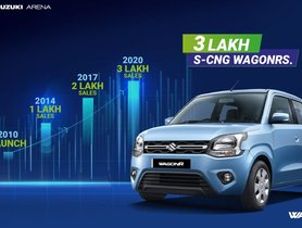 More than 3 Maruti WagonR CNG Models Sold Every Hour!