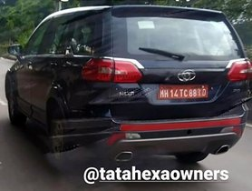 Tata Hexa 4x4 Automatic Version Spotted During Testing