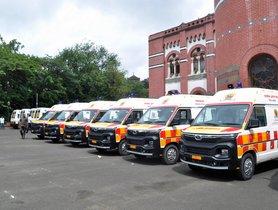 51 Units of Tata Winger Ambulance Delivered to Zilla Parishad Pune