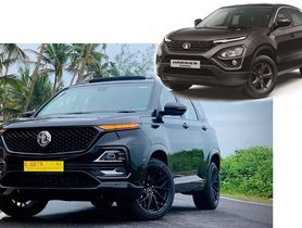 How About an ALL BLACK MG Hector Similar to Tata Harrier Black Edition?