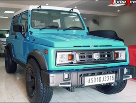 Here's a Modified Maruti Suzuki Gypsy With Retro Look