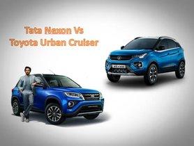 Tata Nexon Vs Toyota Urban Cruiser - Specifications And Prices Comparison