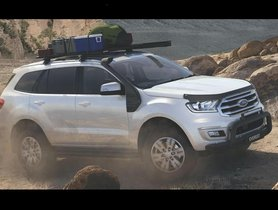 Ford Endeavour BaseCamp Off-Road Accessories Pack Trim Could Launch in India