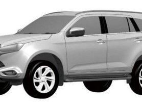 Toyota Fortuner-rivalling 2021 Isuzu MU-X Patent Images Leaked, Launch Soon