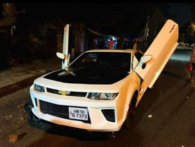 This Contraption of a Chevy Camaro was once a Cruze, Costs an INSANE Rs 10 Lakh