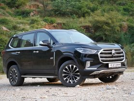 MG Gloster to Offer More Features than Toyota Fortuner - Full List Revealed