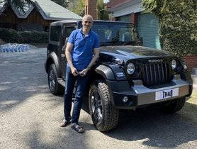 Omar Abdullah Reviews 2020 Mahindra Thar, Anand Mahindra REPLIES