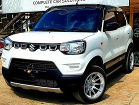 This Modified Maruti S-Presso Rides On 15-inch Mags, Check Here