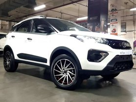 This Tata Nexon Carries SNAZZY 17-inch Aftermarket Alloy Wheels