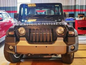 First-ever Modified 2020 Mahindra Thar with Jeep Grille - THIS IS IT!