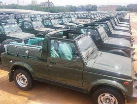 BSIV Maruti Gypsy Registers Decent Sales Figure Even on Being Discontinued
