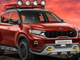 Kia Sonet Rendered As Thorough-bred Off-Roader [Video]