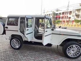 Modified Mahindra Bolero Looks CRAZY with Massive 20-inch Alloy Wheels