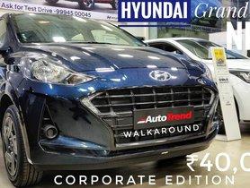 Hyundai Grand i10 Nios Corporate Edition Detailed Walkaround Video