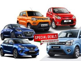 Maruti Suzuki October 2020 Car Offers & Discounts – Best offers for Navratri, Diwali