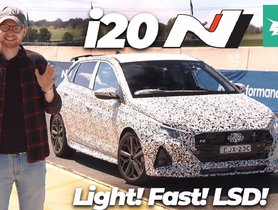 2021 Hyundai Elite i20 N Prototype Reviewed by Foreign Journalist on Track