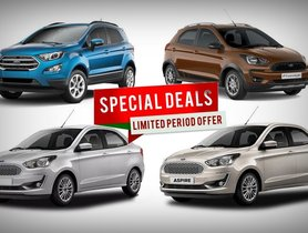 Figo to EcoSport - Ford Offers & Discounts For October 2020 – Best Pre-Navratri and Diwali Offers