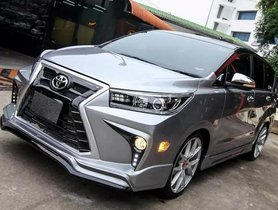 Here's a Modified Toyota Innova That Wants to be a Lexus