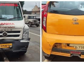 Tempo Traveller Gets Severely Damaged After Hitting Tata Nano - WHATTT!?