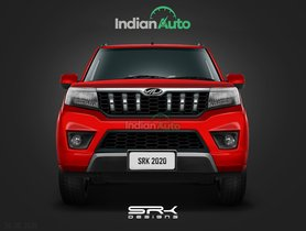Mahindra TUV300 Facelift Looks Smarter in This Life-like Rendering