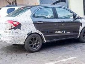 Next-gen Ford EcoSport Testing in Aspire's Body With Minimal Camo