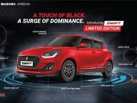 Limited Edition Maruti Swift Launched With Sporty Body Kit