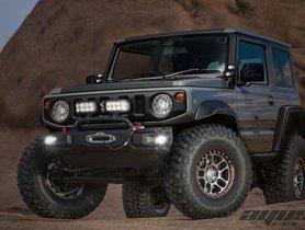 Modified Suzuki Jimny Looks Ready to Counter Some Tough Terrains