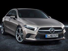 Mercedes Benz A-Class Sedan To Launch This Diwali