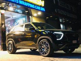 New Hyundai Creta Fitted With Massive 20-inch Alloys