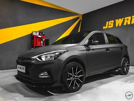 Dark-themed Hyundai Elite i20 Features Greyscale Filter in Real Life