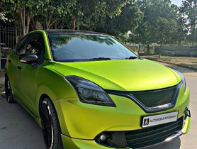 This Modified Baleno Green Goblin Looks DAZZLING