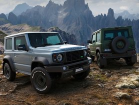 Suzuki Jimny Modified With Mercedes-Benz G-Wagon & Land Rover Defender Body Kits